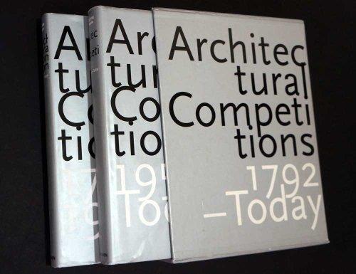 Architekturwettbewerbe 1792 - heute (2 Bände): Jong, Cees de