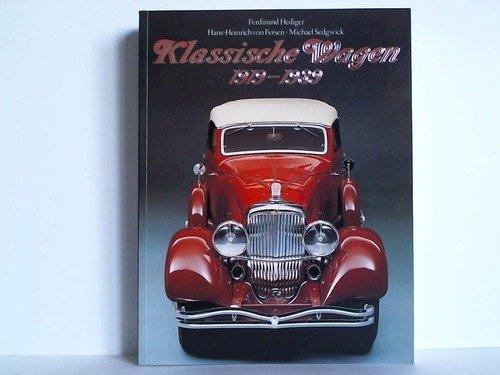 9783822889442: Personenwagen 1919 - 1970: 3 Bände