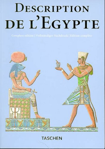 9783822889640: Description de l'Egypte: Publiee par les ordres de Napoleon Bonaparte (Klotz Series)