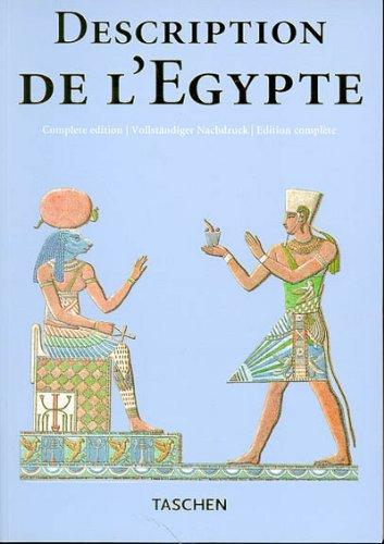 9783822889640: DESCRIPTION DE L'EGYPTE. Publiée par les ordres de Napoléon Bonaparte, édition complète