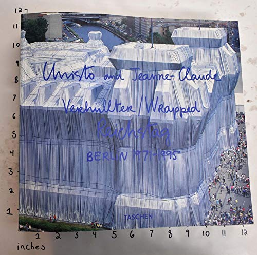 9783822892688: Wrapped Reichstag Berlin 1971-95 (Jumbo)