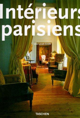 9783822892893: Intérieurs parisiens