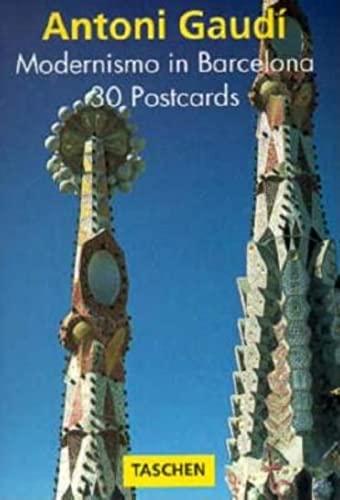 9783822893388: Gaudi: Modernismo in Barcelona (PostcardBooks)