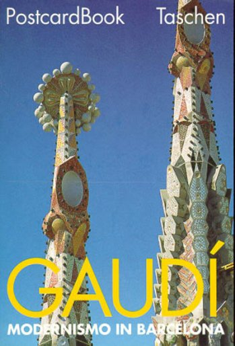 PostcardBook, Bd.3, Antoni Gaudi: Modernismo in Barcelona: Antoni Gaudí