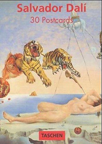 Salvador Dali (postcards) (Poster Portfolios): Dali, Salvador