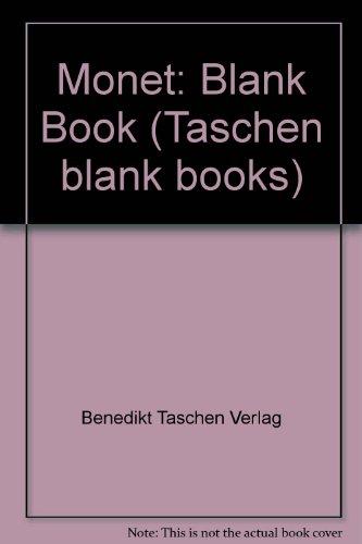 Monet-Blank Book (Taschen blank books): Benedikt Taschen Verlag,
