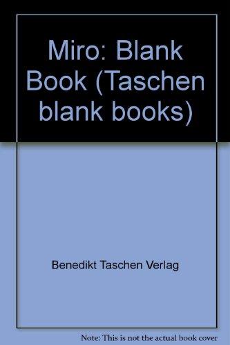 Miro-Blank Book (Taschen blank books): Benedikt Taschen Verlag