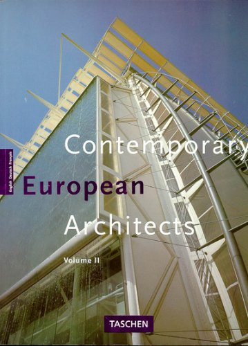 Contemporary European architects 2. Volume II.