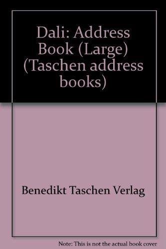 Dali: Address Book (Large) (Taschen address books): Benedikt Taschen Verlag