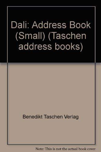 9783822894675: Dali-Address Book (Taschen address books)