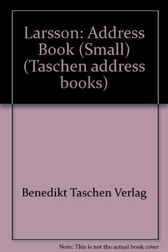 Larsson-Address Book (Taschen address books): Benedikt Taschen Verlag