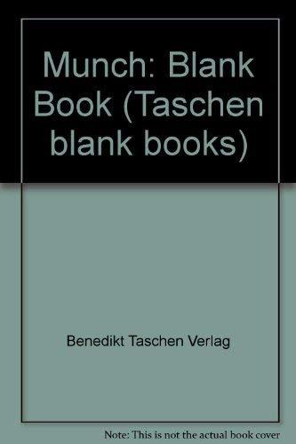 Munch-Blank Book (Taschen blank books): Benedikt Taschen Verlag