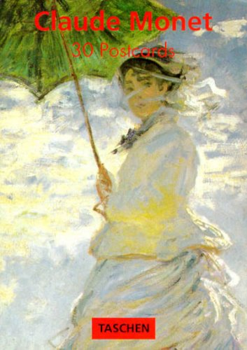 9783822895849: Monet Postcard Book