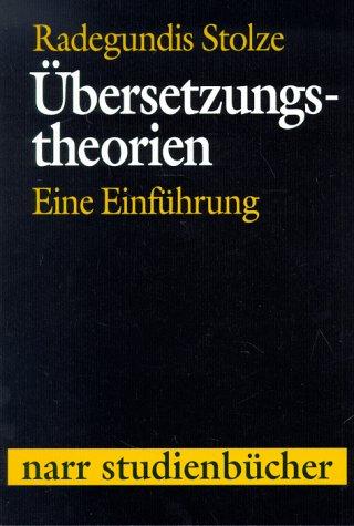 9783823349563: Übersetzungstheorien. Eine Einführung.