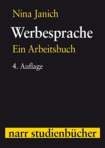 9783823349747: Werbesprache (Narr Studienbucher)