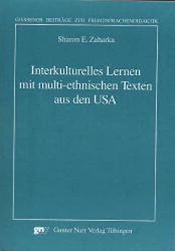 9783823353164: Interkulturelles Lernen mit multi-ethnischen Texten aus den USA.