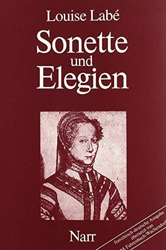 9783823360902: Sonette und Elegien