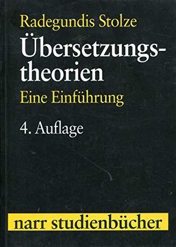 9783823361978: Übersetzungstheorien