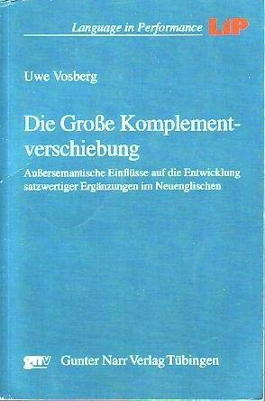 Die Große Komplementverschiebung: Uwe Vosberg