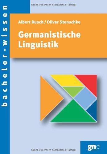 9783823362883: Germanistische Linguistik. Eine Einführung