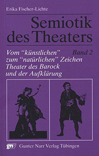 """Semiotik des Theaters 2. Vom """"künstlichen"""" zum: Narr Dr. Gunter"""