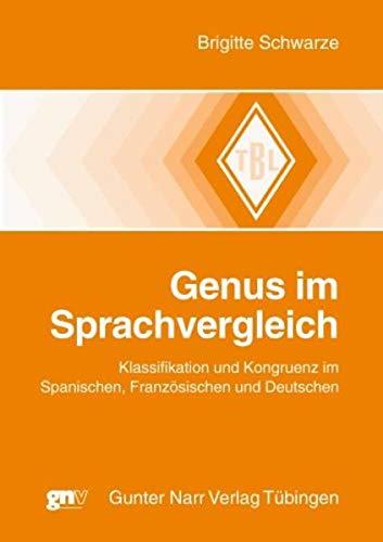 Genus im Sprachvergleich: Brigitte Schwarze