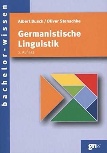 9783823364146: Germanistische Linguistik: Eine Einführung