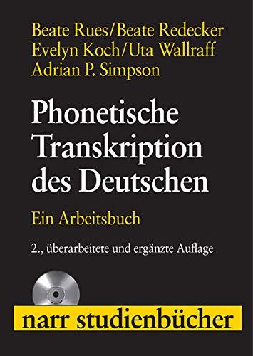9783823364658: Phonetische Transkription des Deutschen: Ein Arbeitsbuch