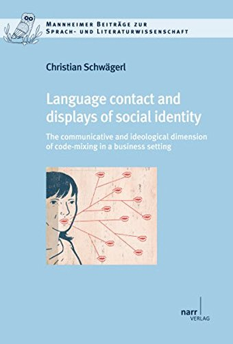 Language contact and displays of social identity.