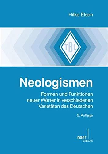 Neologismen - Hilke Elsen