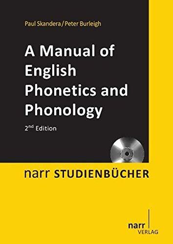 9783823366652: A Manual of English Phonetics and Phonology