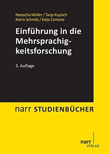 Einführung in die Mehrsprachigkeitsforschung: Narr Dr. Gunter