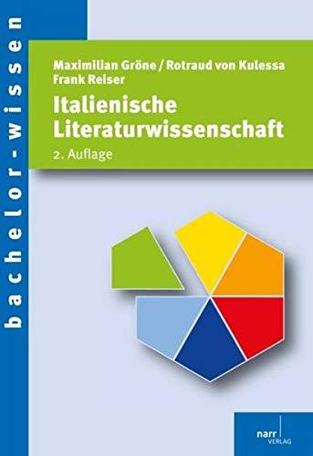 Italienische Literaturwissenschaft: Narr Dr. Gunter