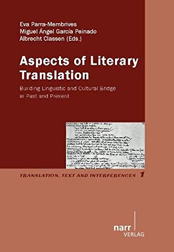 9783823367086: Aspects of Literary Translation