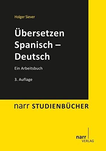 9783823367895: Übersetzen Spanisch - Deutsch