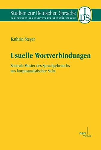 Usuelle Wortverbindungen: Kathrin Steyer