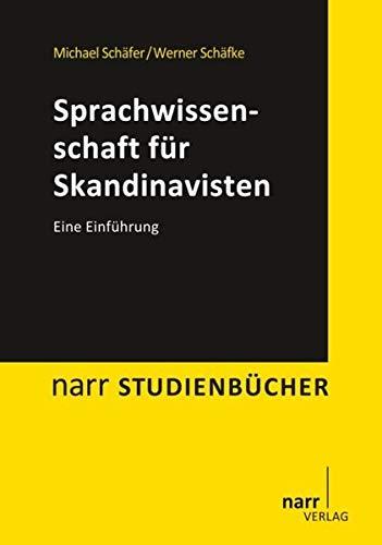 9783823368106: Sprachwissenschaft für Skandinavisten: Eine Einführung