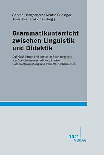 9783823368571: Grammatikunterricht zwischen Linguistik und Didaktik