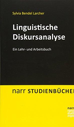 9783823368687: Linguistische Diskursanalyse