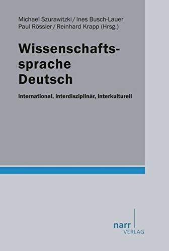 Wissenschaftssprache Deutsch: Michael Szurawitzki