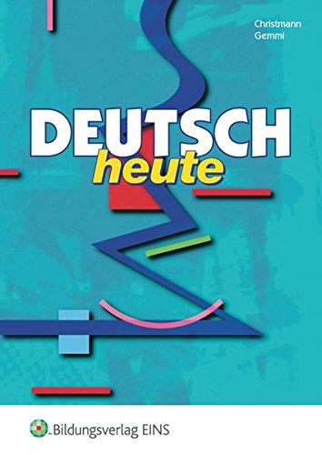 9783823734604: Deutsch heute