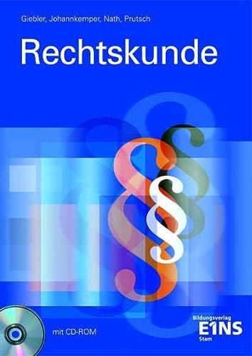 9783823747512: Rechtskunde: Lehr-/Fachbuch