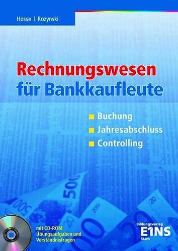9783823751014: Rechnungswesen für Bankkaufleute. Buchung, Jahresabschluss, Controlling. (Lernmaterialien)