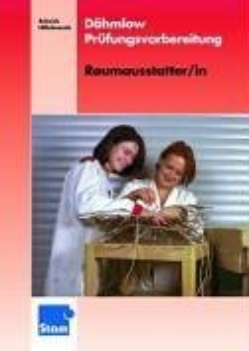9783823772927: Dähmlow Prüfungsvorbereitung: Raumausstatter/in