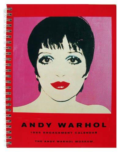 9783823818632: Andy Wharol 1995 Engagement Calendar