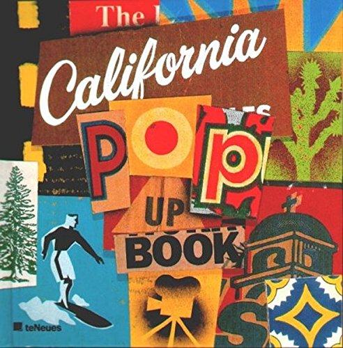 9783823854630: Kalifornien. Pop-up- Buch.