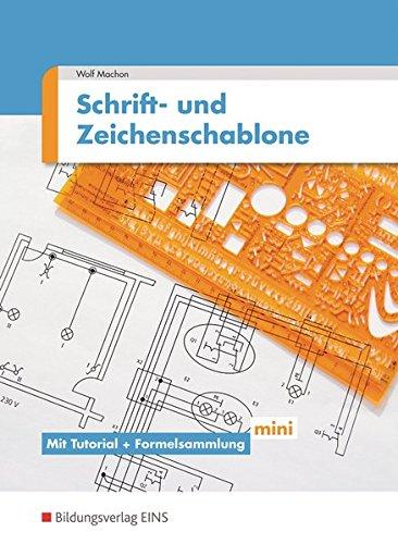 9783823967125: Schriften- und Zeichenschablone Elektrotechnik / E