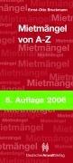 Mietmängel von A - Z (Sonstige Tabellen): Bruckmann