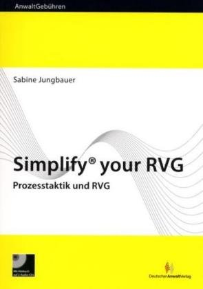 9783824009428: Simplify your RVG