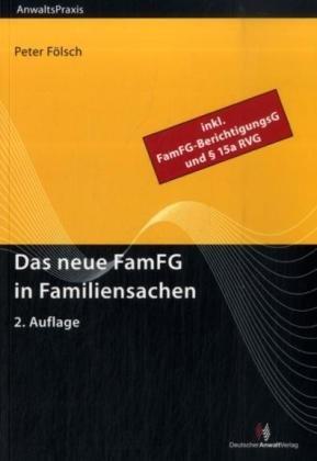9783824010585: Das neue FamFG in Familiensachen